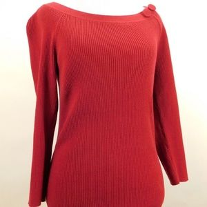 Ann Taylor Loft Womens Knit Sweater Pull Over